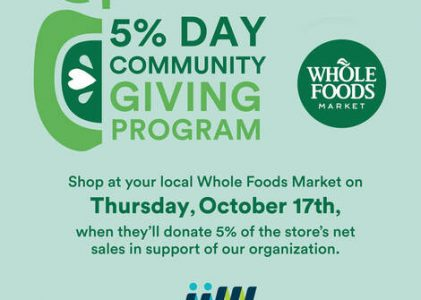 Community Giving Day with Whole Foods Market
